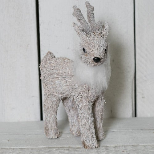Front - Reindeer With Faux Fur