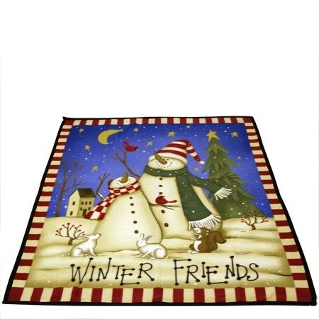 Various - Front - Winter Friends Fleece Throw Blanket