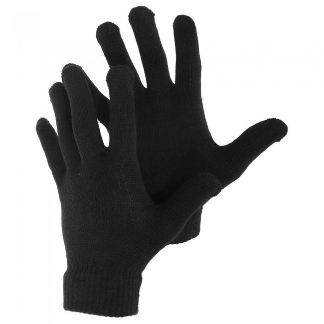 Front - Mens Knitted Winter Magic Gloves