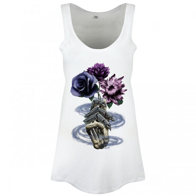 Front - Requiem Collective Ladies/Womens Death`s Bouquet Floaty Tank