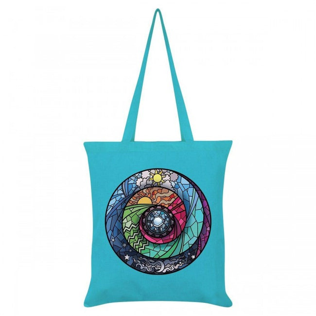 Front - Grindstore Stained Glass Spectroscope Tote Bag