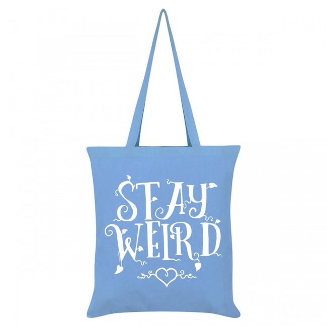 Front - Grindstore Stay Weird Tote Bag