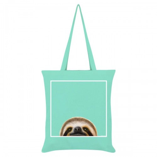 Front - Inquisitive Creatures Sloth Tote Bag