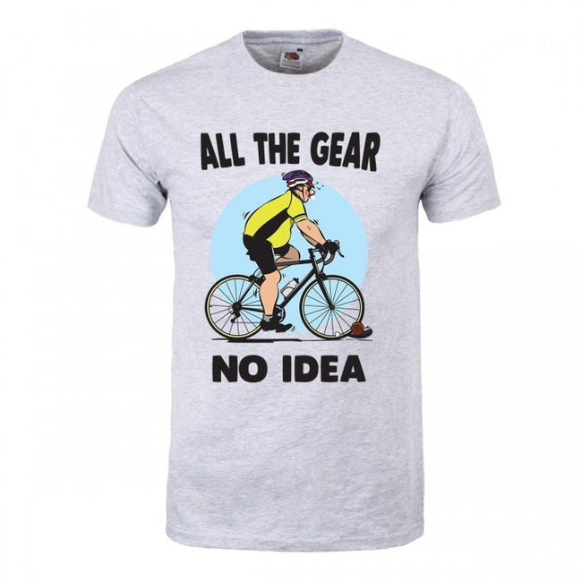 Front - Grindstore Mens All The Gear No Idea T-Shirt