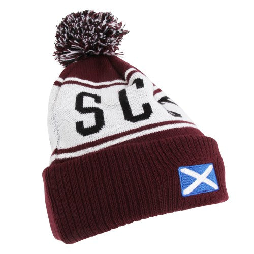 Front - Devoted2style Adults Unisex Scotland Winter Hat
