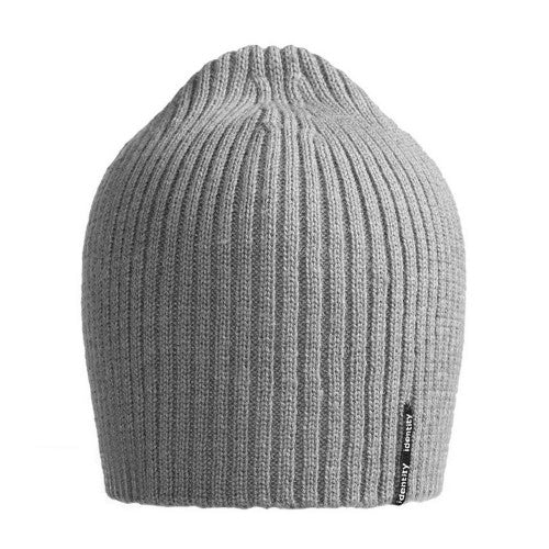 Front - ID Womens/Ladies Plain Knitted Beanie Hat