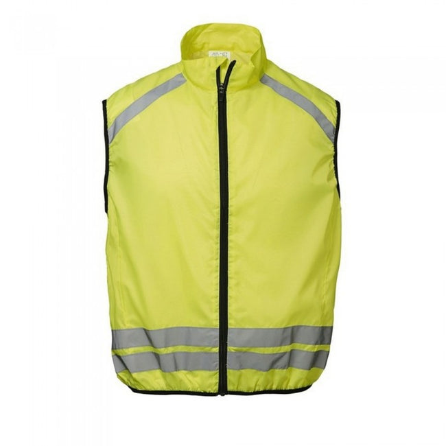 Front - ID Reflective Hi-Visibility Regular Fitting Running Vest