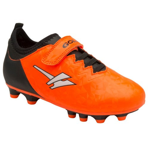 Front - Gola Boys Alpha MLD Touch Fastening Football Training Shoe