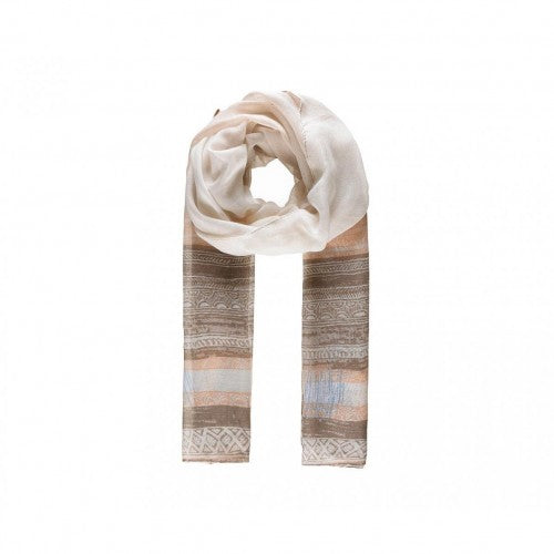 Front - Intrigue Womens/Ladies Patterned Stripe Print Scarf