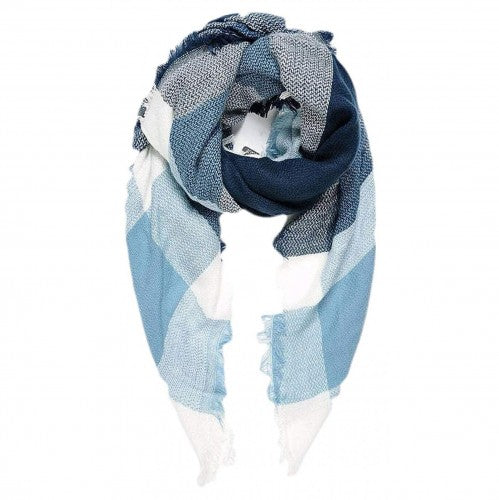 Front - Intrigue Womens/Ladies Tartan Blanket Square Scarf