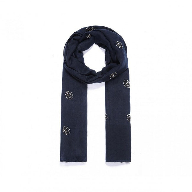 Front - Intrigue Womens/Ladies Sequin Circle Scarf