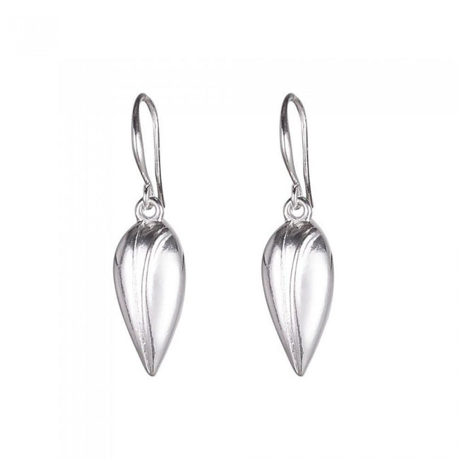Front - Fable Womens/Ladies Long Bud Earrings