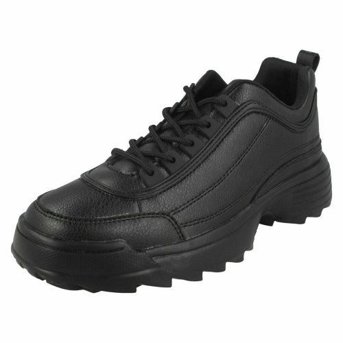 Front - Reflex Womens/Ladies Lace Up Trainers