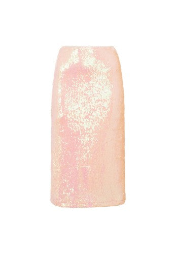 Front - Girls On Film Womens/Ladies Spock Iridescent Sequin Skirt