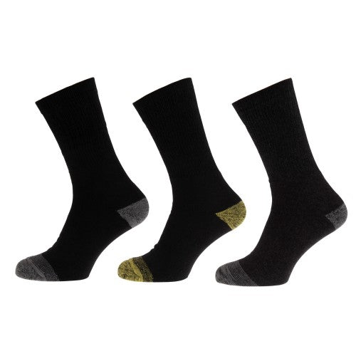 Front - Mens Ultimate Work Socks (Pack Of 3)