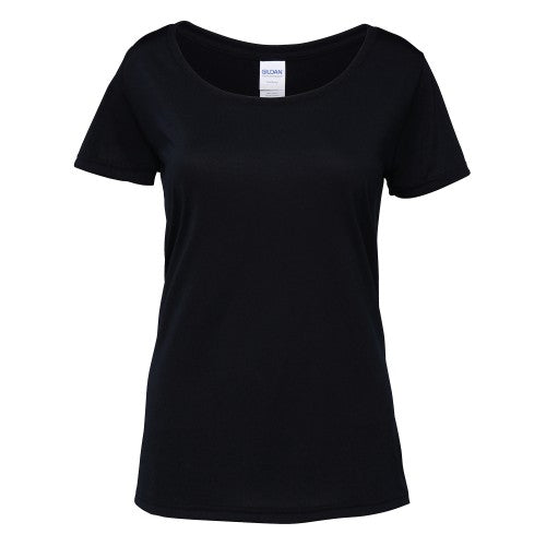 Front - Gildan Womens/Ladies Performance Core Short Sleeve T-Shirt
