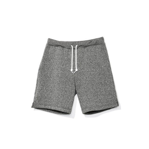 Front - American Apparel Unisex Salt & Pepper Gym Shorts