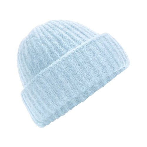 Front - Beechfield Womens/Ladies Plush Cuffed Beanie