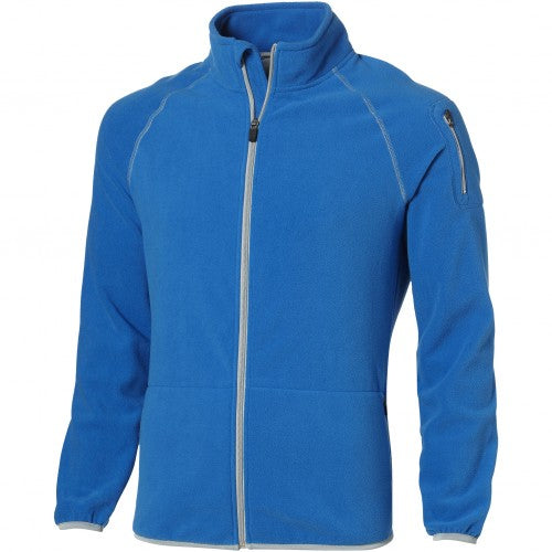 Front - Slazenger Mens Drop Shot Full Zip Micro Fleece Jacket