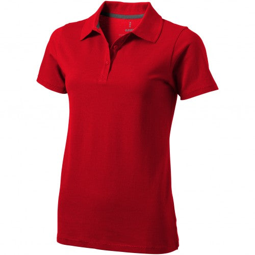 Front - Elevate Seller Short Sleeve Ladies Polo