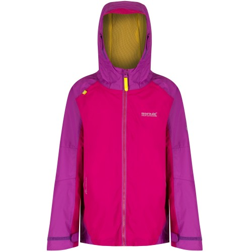 Front - Regatta Great Outdoors Childrens/Kids Allcrest II Waterproof Jacket