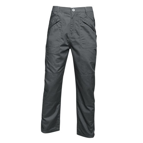 Front - Regatta Mens Original Action Waterproof Trousers - Regular