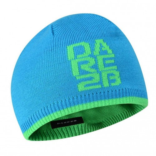 Front - Dare 2B Kids/Childrens Thick Cuff Reversible Beanie Hat
