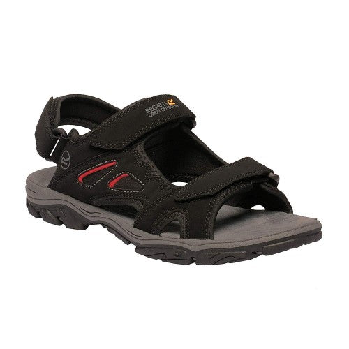 Front - Regatta Mens Holcombe Vent Sandals