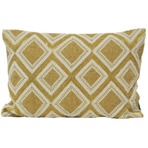Front - Riva Home Kenitra Beaded Cushion Cover