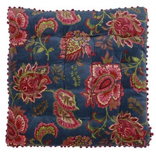 Smoke Blue - Back - Riva Home Malisa Cushion Cover