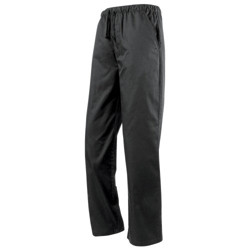 Front - Premier Essential Unisex Chefs Trouser / Catering Workwear