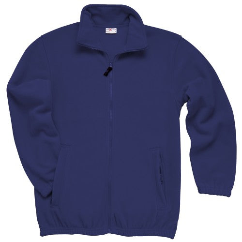 Front - RTXtra Mens Classic Pill Resistant Fleece Jacket