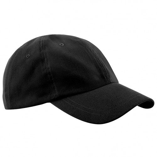 Front - Beechfield Junior Low Profile Baseball Cap / Schoolwear / Headwear