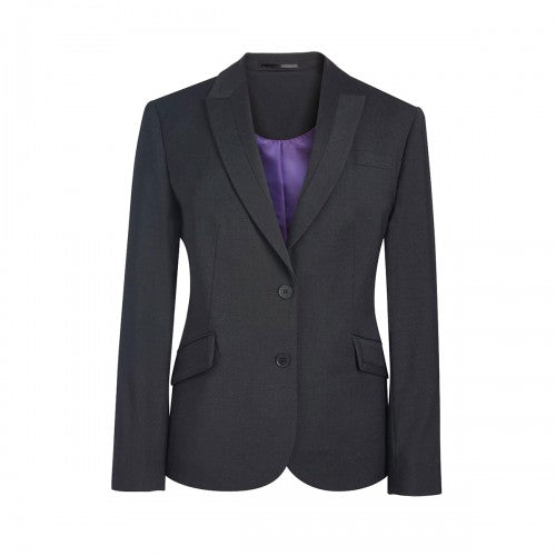 Front - Brook Taverner Ladies/Womens Novara Semi Fitted Suit Jacket