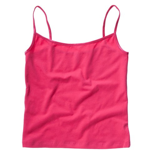 Front - Bella + Canvas Womens/Ladies Cotton Spandex Camisole Top