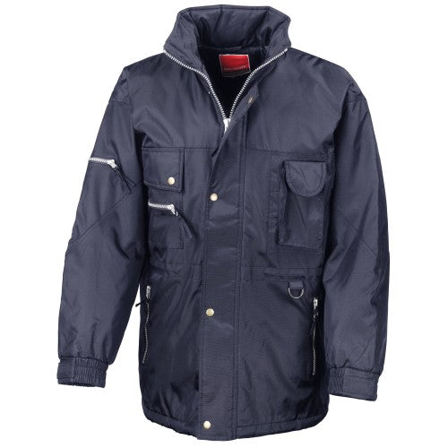 Front - Result Mens Hi-Active Insulated Performance Waterproof Jacket