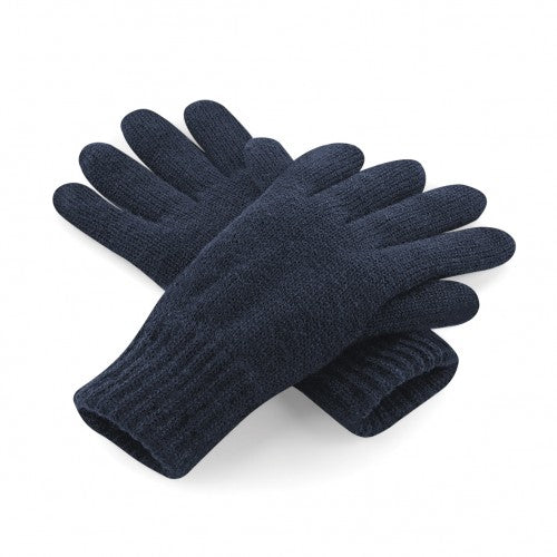 Front - Beechfield Unisex Classic Thinsulate Thermal Winter Gloves