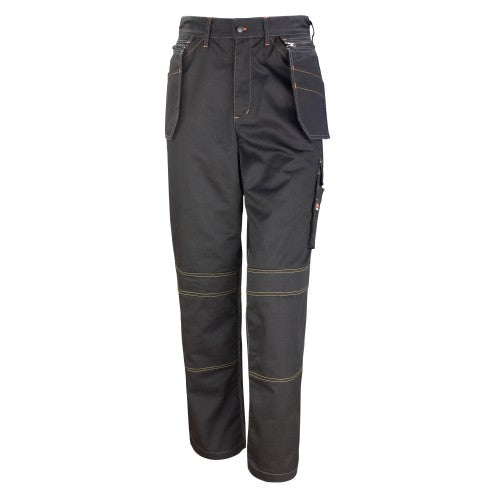 Front - Result Unisex Work-Guard Lite X-Over Holster Workwear Trousers (Breathable And Windproof)
