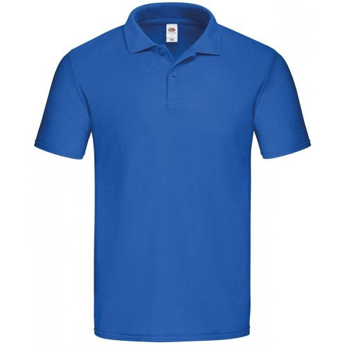Front - Fruit Of The Loom Mens Moisture Wicking Short Sleeve Performance Polo Shirt