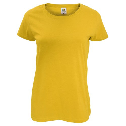 Front - Fruit Of The Loom Womens/Ladies Short Sleeve Lady-Fit Original T-Shirt