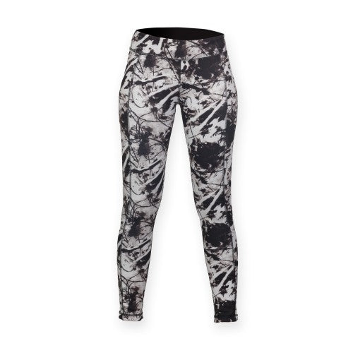 Front - Skinnifit Womens/Ladies Reversible Work-Out Leggings