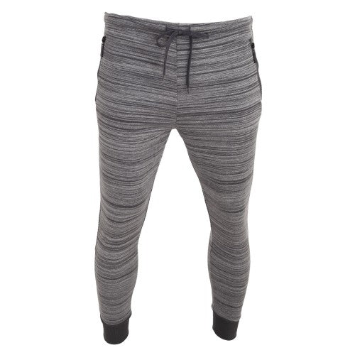 Front - Brave Soul Mens Real Elasticated Jogging Bottoms