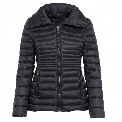 Front - 2786 Womens/Ladies Contour Quilted Jacket