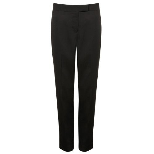 Front - Henbury Womens/Ladies Tapered Leg Trousers
