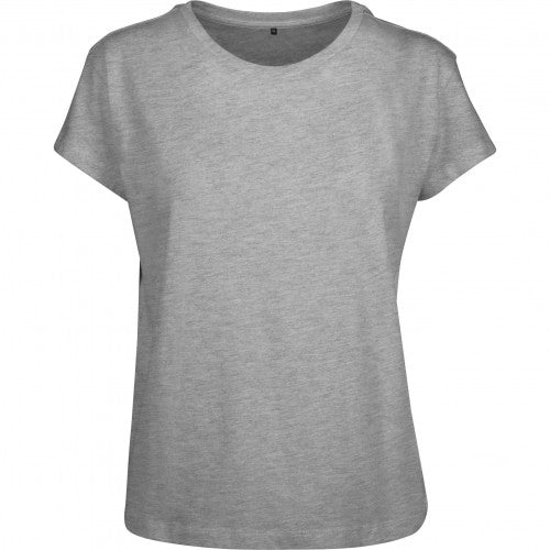 Front - Build Your Brand Womens/Ladies Box T-Shirt
