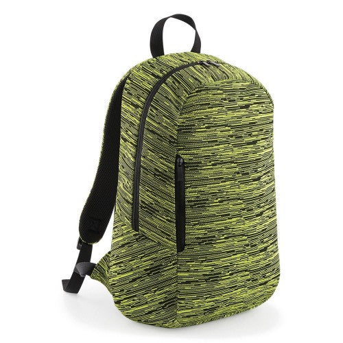 Front - BagBase Duo Knit Backpack