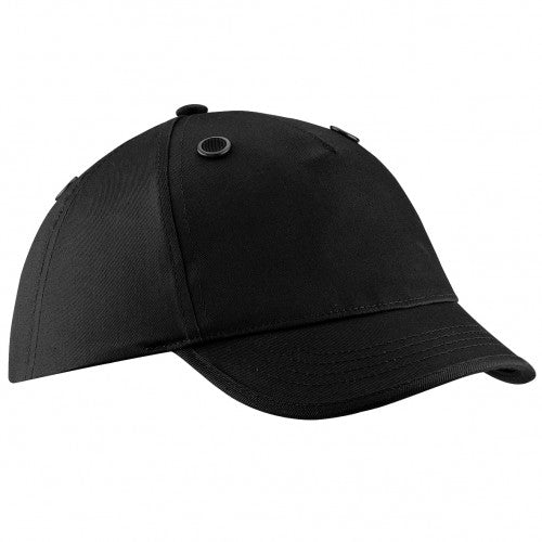 Front - Beechfield Coolmax® En812 Bump Baseball Cap / Headwear (Pack of 2)