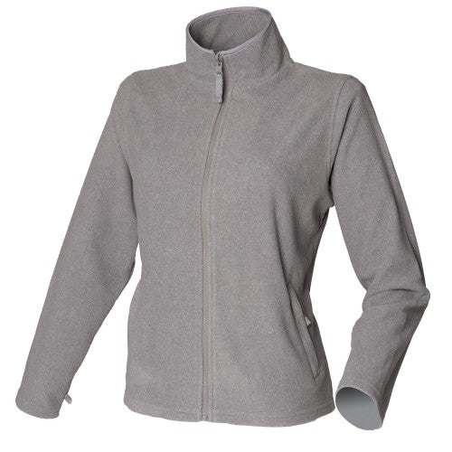 Front - Henbury Womens/Ladies Microfleece Anti-Pill Jacket