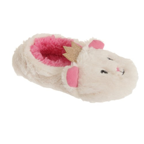 Front - Slumberzzz Childrens Girls Slip On Cat Princess Slippers