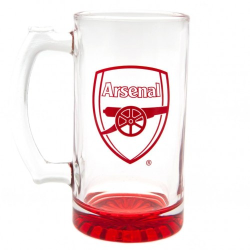 Front - Arsenal FC Stein Glass Tankard